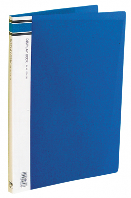 Image of Display Book 40p Fm A4 Blue