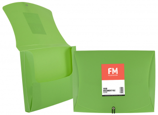 Image of Document File Fm Pp Vivid Lime Green