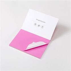 Image of Magnetic Notes Small Pink 70x50mm