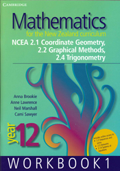 Image of Mathematics For The New Zealand Curriculum : Year 12 Workbook 1
