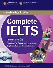 Image of Complete Ielts : Bands 6.5 - 7.5 : Student's Book Without Answers + Cd-rom
