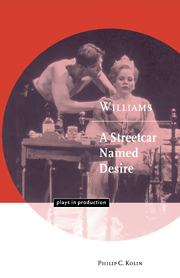Image of Williams : A Streetcar Named Desire : Plays In Production