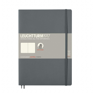 Image of Journal Leuchtturm 1917 Softcover B5 Dotted Anthracite