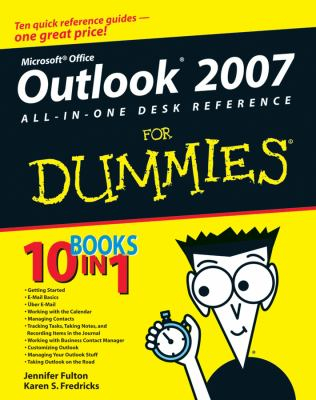 Image of Outlook 2007 All In One Desk Reference For Dummies
