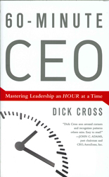 60-minute Ceo : Mastering Leadership An Hour At A Time