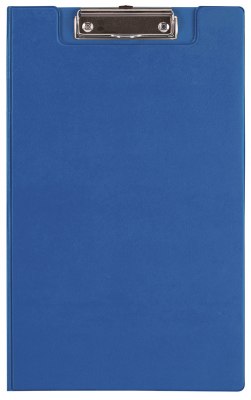 Image of Clipboard Fm Pvc With Flap Foolscap Blue