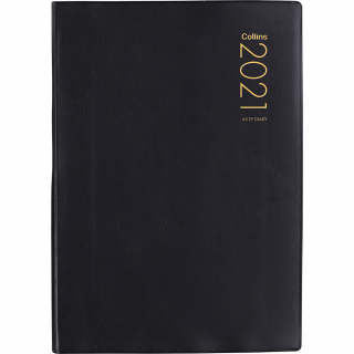 Image of Diary 2021 Collins A51p Black
