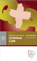 Criminal Law : Butterworths Questions And Answers