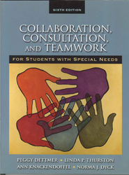 Collaboration Consultation & Teamwork For Students With Special Needs