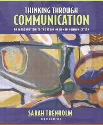 Image of Thinking Through Communication An Introduction To The Study Of Human Communication