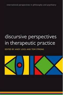 Image of Discursive Perspectives In Therapeutic Practice