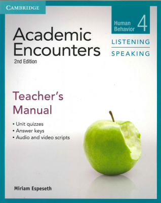 Academic Encounters : Human Behaviour : Listening And Speaking : Teacher's Manual