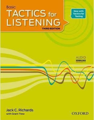 Image of Basic Tactics For Listening 1 : Student Book