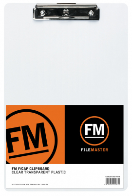 Image of Clipboard Fm Clear Transparent