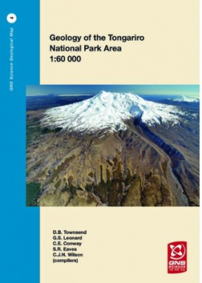 Image of Geology Of The Tongariro National Park Area Scale 1 : 60 000
