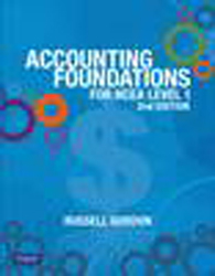 Image of Accounting Foundations For Ncea Level 1