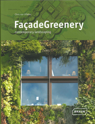 Image of Facade Greenery Contemporary Landscaping