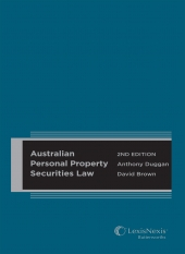 Image of Australian Personal Property Securities Law