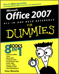 Image of Office 2007 All In One Desk Reference For Dummies