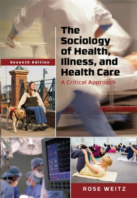 Image of Sociology Of Health Illness And Health Care : A Critical Approach