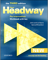 Image of New Headway : Pre-intermediate : Workbook With Key : 3rd Edition