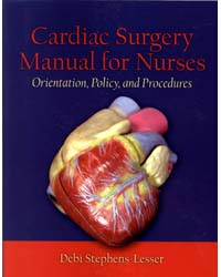 Image of Cardiac Surgery For Nurses : Orientation Policy And Procedures
