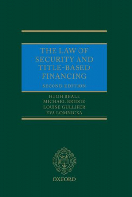 Image of Law Of Security And Title Based Financing