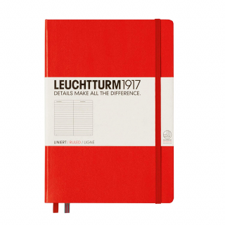 Image of Journal Leuchtturm 1917 Medium Lined Red