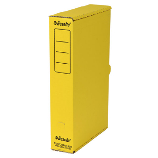 Image of Storage Box Esselte Foolscap Yellow