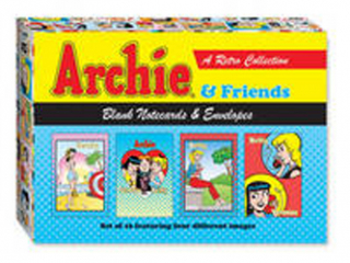 Image of Archie And Friends Blank Notecards And Envelopes : Set Of 16featuring Four Different Images