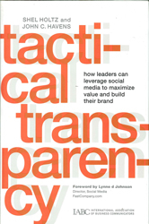 Image of Tactical Transparency How Leaders Can Leverage Social Media To Maximize Value & Build Their Brand