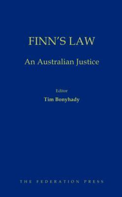 Image of Finn's Law : An Australian Justice