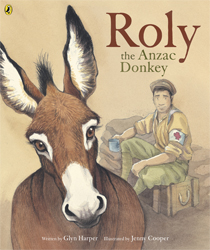 Image of Roly The Anzac Donkey