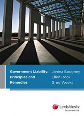 Image of Government Liability : Principles And Remedies