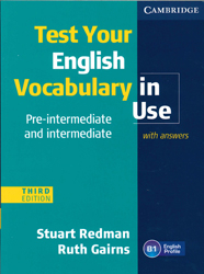 Image of Test Your English Vocabulary In Use : Pre-intermediate And Intermediate : With Answers