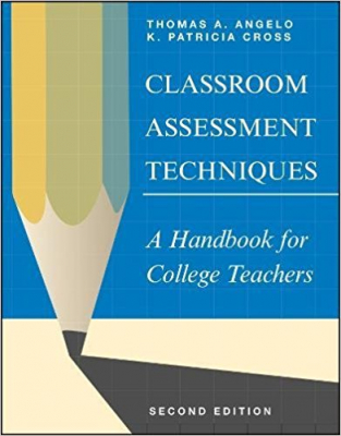 Image of Classroom Assessment Techniques A Handbook For College Teachers