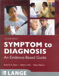 Image of Symptom To Diagnosis Evidence Based Guide