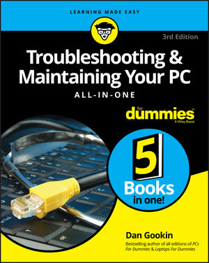 Image of Troubleshooting And Maintaining Your Pc All-in-one For Dummies