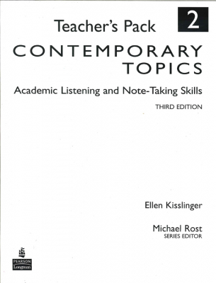 Image of Contemporary Topics 2 : Teachers Pack
