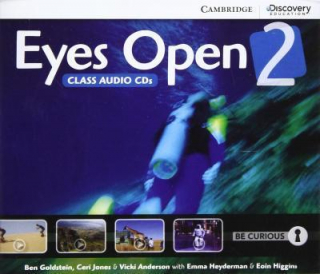 Image of Eyes Open Level 2 : Audio Cds