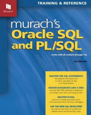 Image of Murach's Oracle Sql And Pl Sql