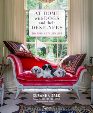 Image of At Home With Dogs And Their Designers : Sharing A Stylish Life