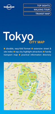 Image of Tokyo City Map : Lonely Planet