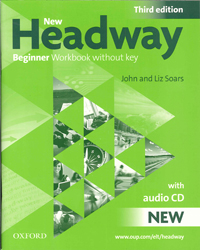 Image of New Headway : Beginner Workbook Without Key + Audio Cd