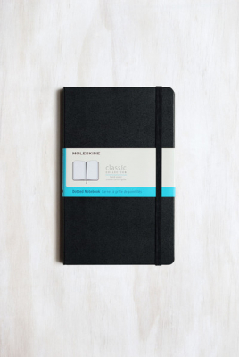 Image of Journal Moleskine Classic Sc Large Dot Black
