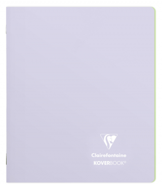 Image of Notebook Clairefontaine Koverbook A5 Lined Lilac