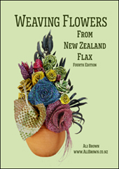 Image of Weaving Flowers From New Zealand Flax