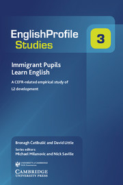 Image of Immigrant Pupils Learn English : A Cefr-related Empirical Study Of L2 Development
