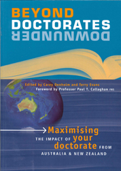 Image of Beyond Doctorates Downunder : Maximising The Impact Of Your Doctorate From Australia Or New Zealand