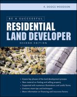 Image of Be A Successful Residential Land Developer